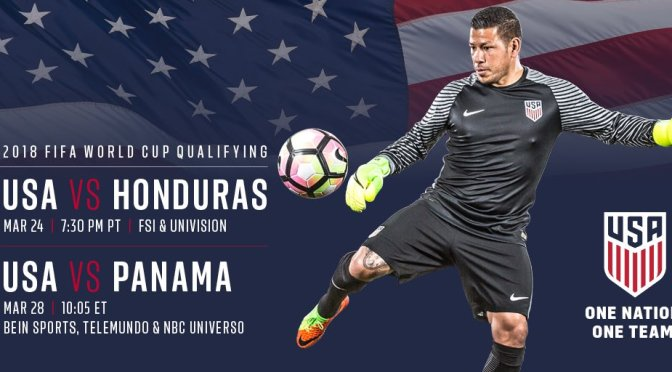 USMNT World Cup Qualifying Roster Reveal