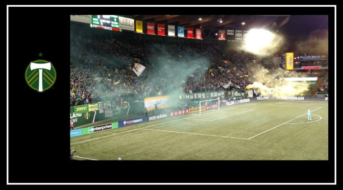 Team. Town. Timbers Army.