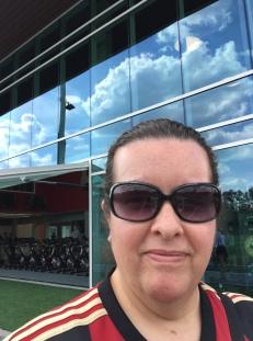 That's Julian Gressel on the bike behind me