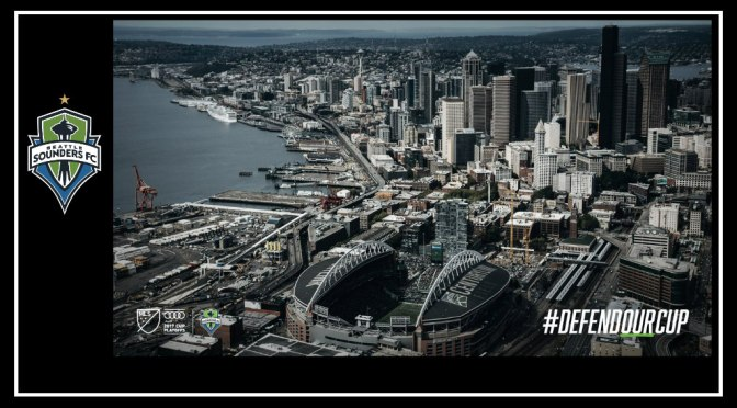 Western Conference Finals Leg 1 for Seattle Sounders