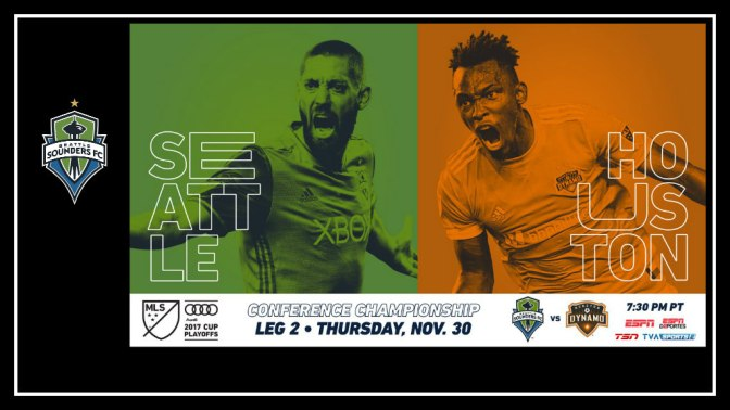 Seattle Sounders v Houston Dynamo Second Leg – Western Conference Finals