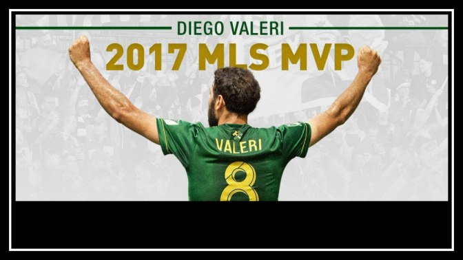 MVP is Diego Valeri, Portland Timbers