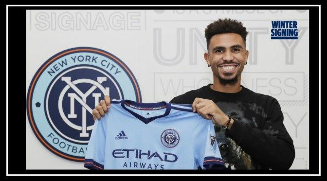 NYCFC Signs Center Back Cedric Hountondji