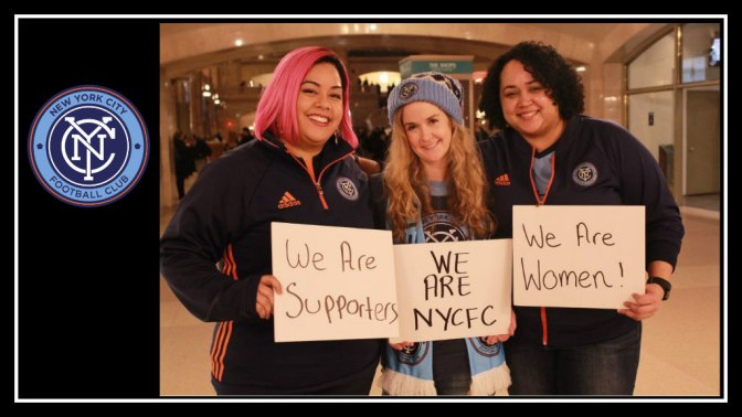 #WeAreNYCFC. I've got all my sisters with me.