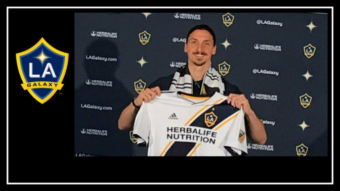 Zlatan Ibrahimovic officially joins the LA Galaxy