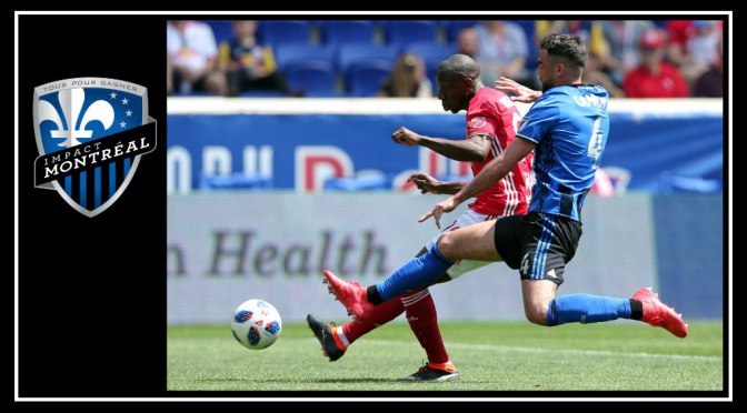 Montréal Impact receive a cold shower on a hot New Jersey day