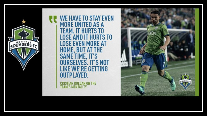A month to forget for the Seattle Sounders