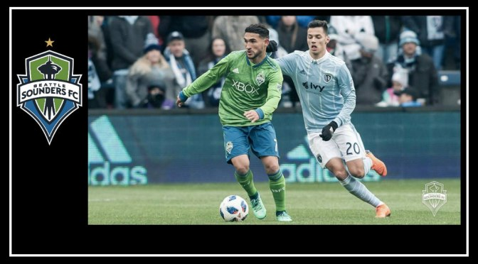 First point for Seattle Sounders