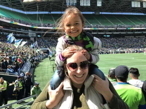 Michelle Huitink - Sounders game/mlsfemale