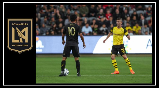 Los Angeles FC surpasses Christian Pulisic and Borussia Dortmund in friendly draw