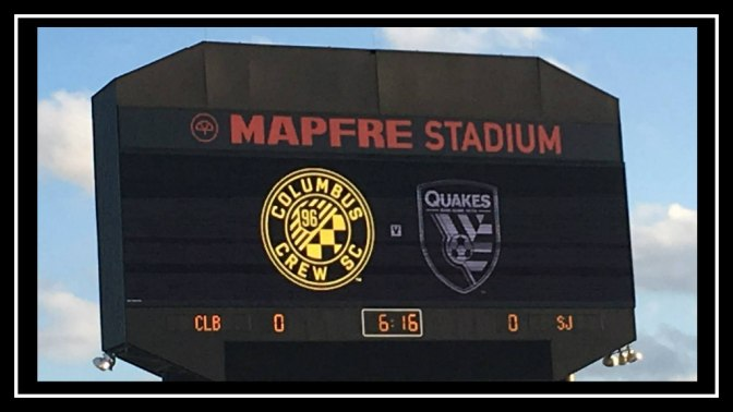 Columbus Crew SC vs San Jose Earthquakes