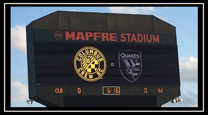 Columbus Crew SC vs San Jose Earthquakes