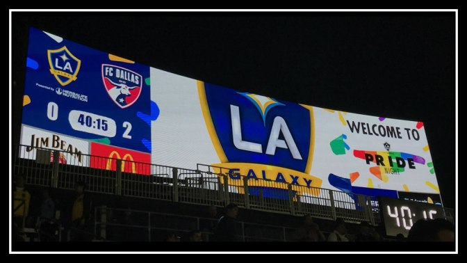 LA Galaxy Pride Night not One to be Proud of