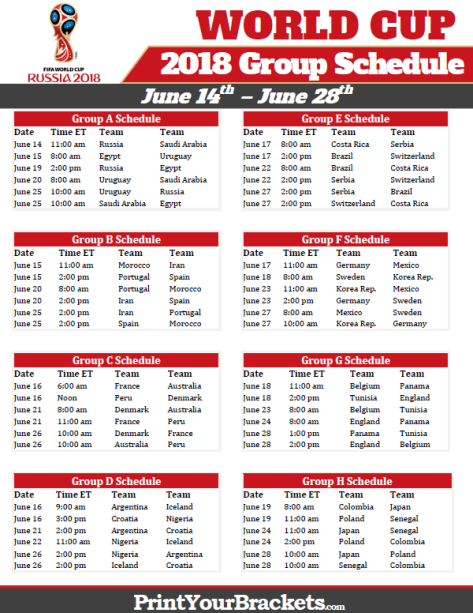 World Cup Schedule/mlsfemale