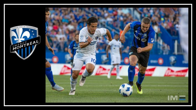 Montréal Impact keep on rolling against the tremulous San Jose Earthquakes