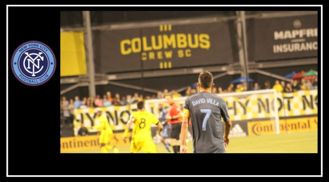 Mixed emotions as NYCFC fall to Columbus Crew 2-1