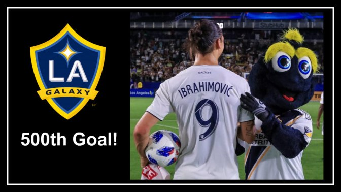 Zlatan Ibrahimovic Joins 500-Goal Club