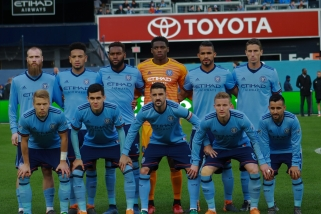 NYCFC's Starting XI v Dallas. Sun. Apr 29