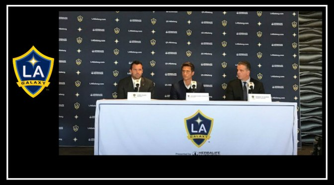 Guillermo Barros Schelotto's introductory press conference in LA