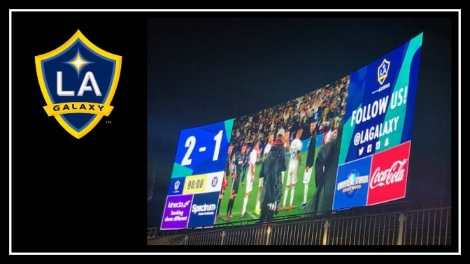 LA Galaxy Opening Day 2-1 Smash