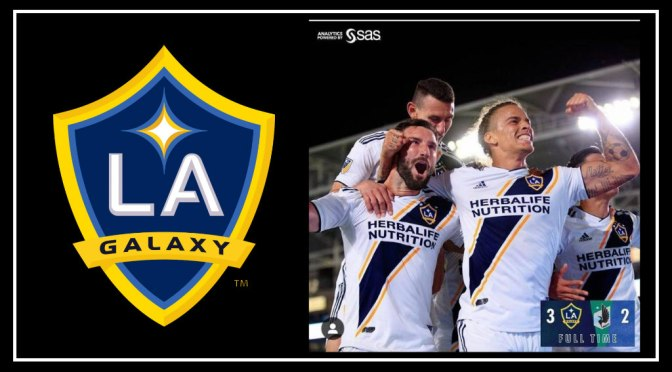 LA GALAXY Magically win 3-2 at home against Minnesota United