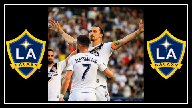 LA Galaxy Put on a show to win 2-1 against portland timbers