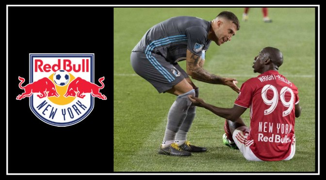 New York Red Bulls Feeling Blue