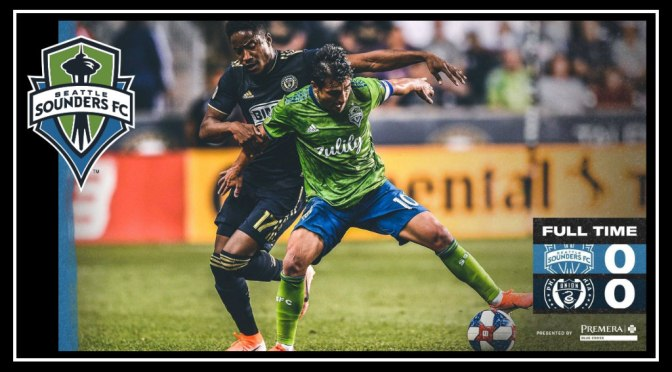 Sounders Earn Tough Point Away at Philly