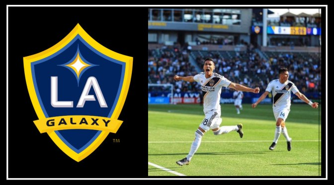 LA Galaxy Undefeated for 7 Consecutive games with  2-1 win Against Real Salt Lake