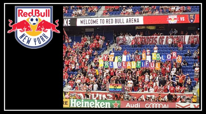New York Red Bulls Show Their True Colors