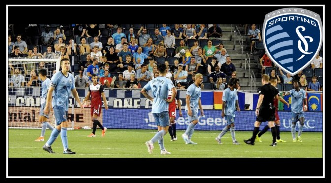 Sporting KC's winning streak comes to an end in 2-0 loss