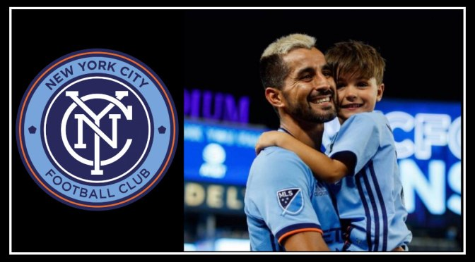 Maxi Moralez's huge presence on NYCFC