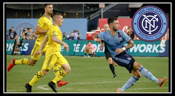 NYCFC cuts off the Columbus Crew 1-0