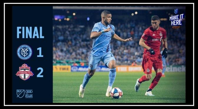 NYCFC's Postseason Ends with 2-1 Loss to Toronto